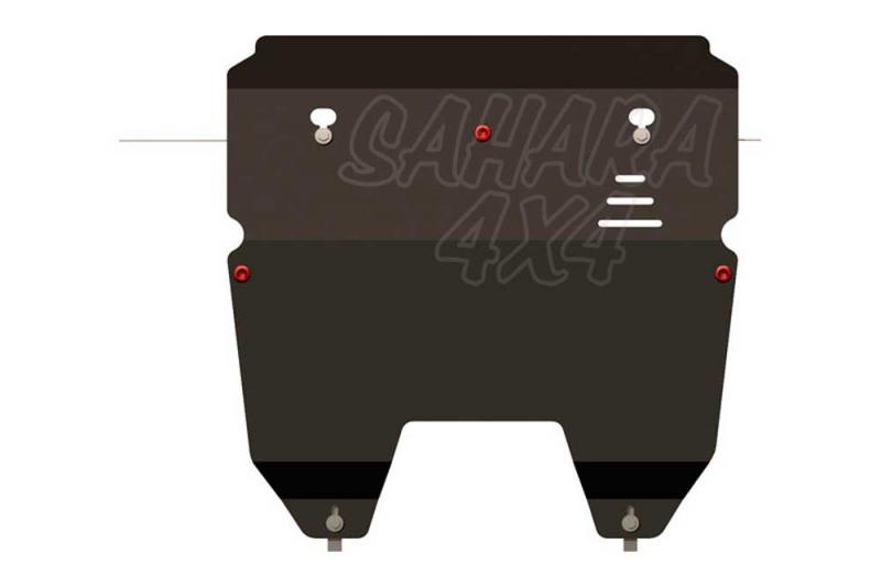 Protección de cárter y caja de cambios en acero 2,5mm Volvo XC90 2003-
