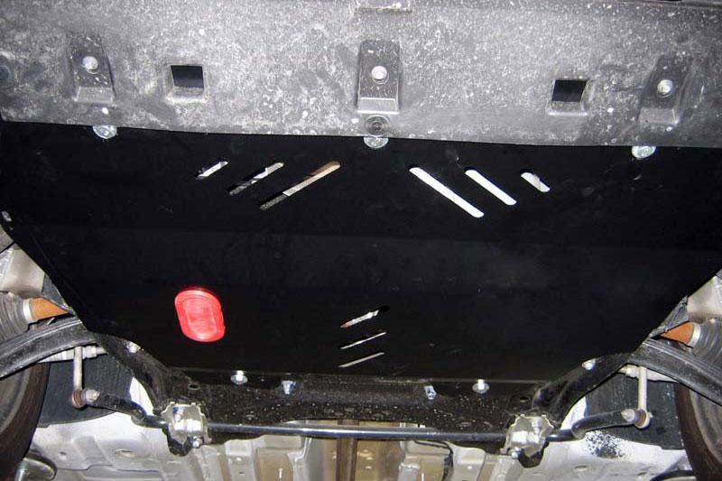 Protección de cárter y caja de cambios en acero 2mm para Citroen Berlingo