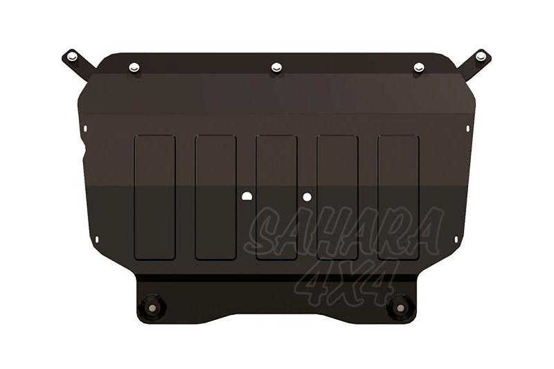 Protección de cárter y caja de cambios en acero 2mm para Volkswagen Tiguan 2007-2011 -