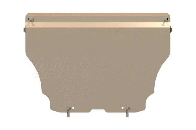 Protección de cárter y caja de cambios  Sheriff en aluminio 5mm para Audi Q5 2008-2014 - Audi Q5 2008-2014 (2.0, 2.0D).