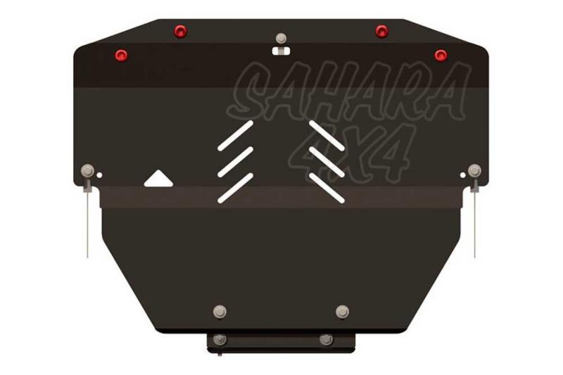 Protección de cárter y caja de cambios en acero 2,5mm para Volvo XC60 2008- -