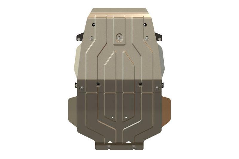Protección de cárter en aluminio 5mm para Toyota LandCruiser HDJ200 -
