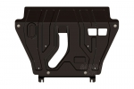 Protección de cárter y caja de cambios en acero 1,8mm para Toyota Rav4 2013- - Para 2.5 AT