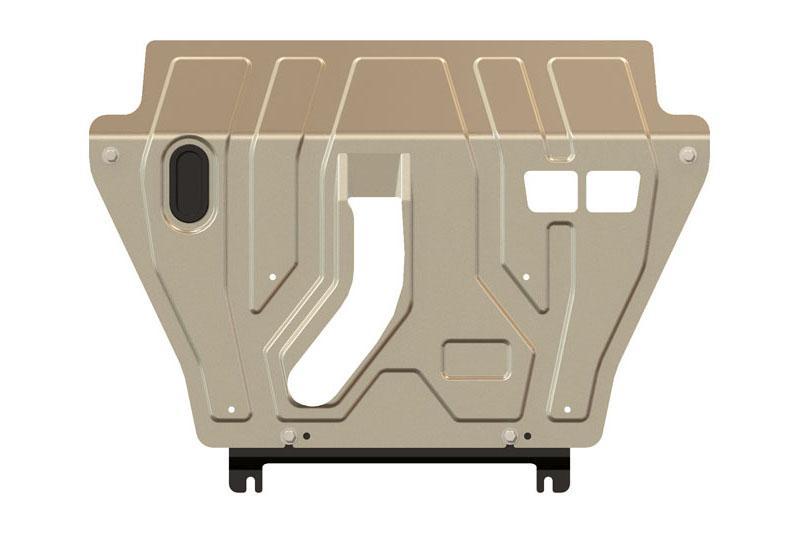 Protección de cárter y caja de cambios en aluminio 3mm para Toyota Rav4 2013- - Para 2.5 AT