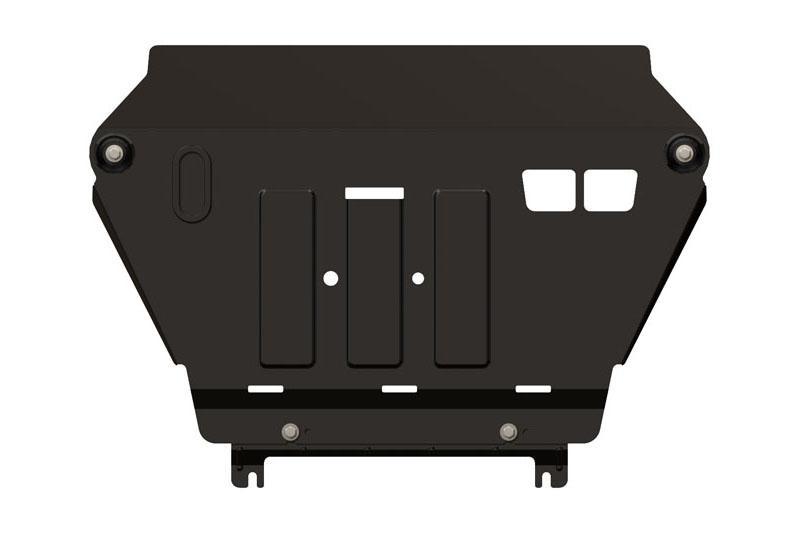 Protección de cárter y caja de cambios en acero 2mm para Toyota Rav4 2013- - Para 2.0, 2.0D y 2.2D