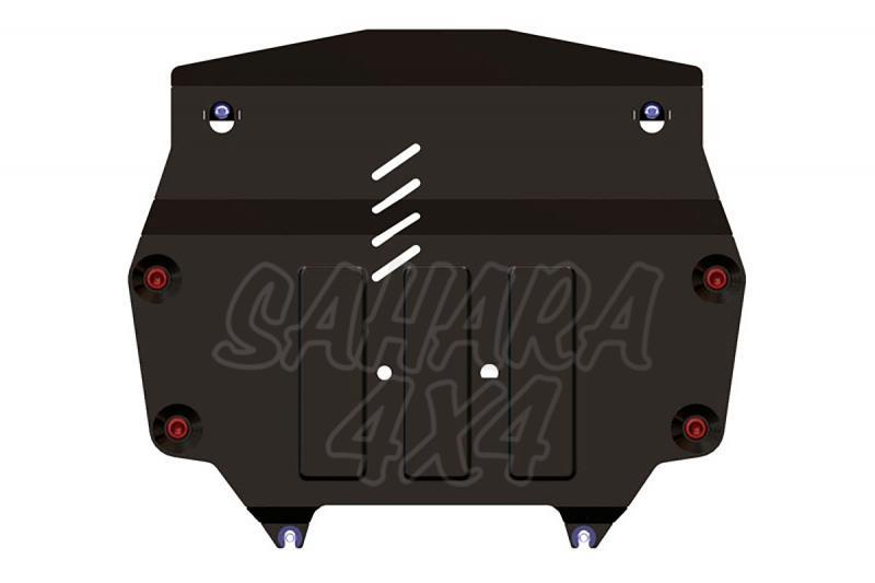 Protección de cárter y caja de cambios en acero 2,5 mm para Honda CR-V 2012- - (2.0; 2.4 AT 4wd)