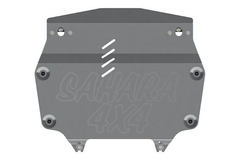Protección de cárter y caja de cambios en aluminio 4mm para Honda CR-V 2012- - (2.0; 2.4 AT 4wd)