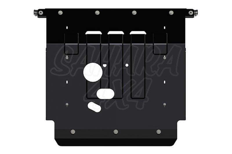 Protección de cárter y caja de cambios en acero 3mm