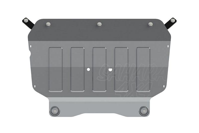 Protección de cárter y caja de cambios en aluminio 4mm para Volkswagen Tiguan 2007-2011