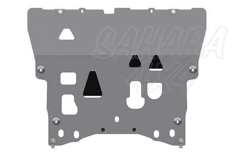 Protección de cárter y caja de cambios en aluminio 5mm Volvo XC90 - Valido para motor 2.0T 320cv AT
