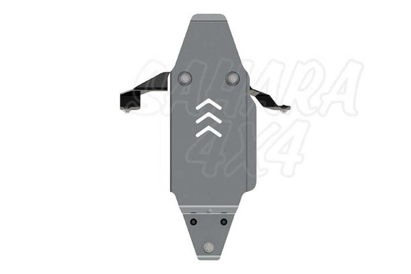 Protección de diferencial trasero en aluminio 5mm Volvo XC90 - Valido para motor 2.0T 320cv AT