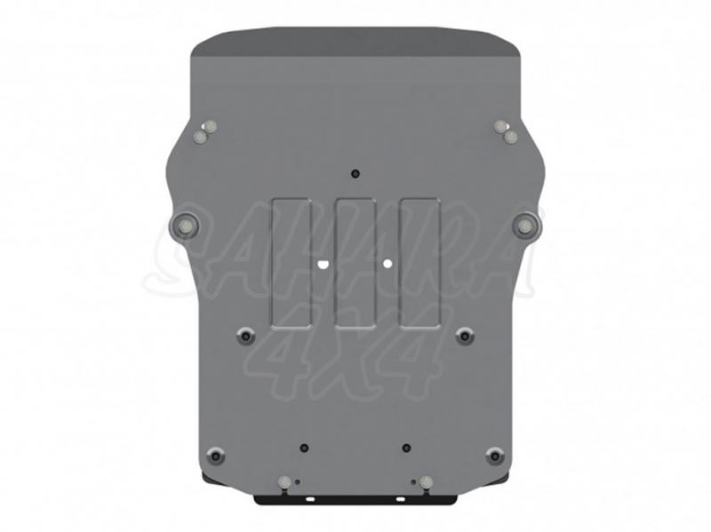 Protección de cárter en aluminio 4mm (estampado) para Bmw X5 2013-, Bmw X6 2015- -