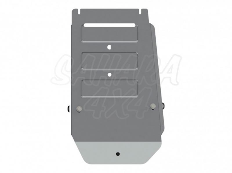 Protección de tránsfer en aluminio 4mm (estampado) para Bmw X5 2013-, Bmw X6 2015- -