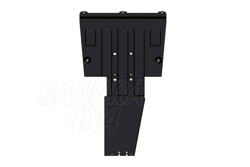 Protección de cárter y caja de cambios en acero 2.5 mm para Mercede Vito/Clase V [2014 - ]