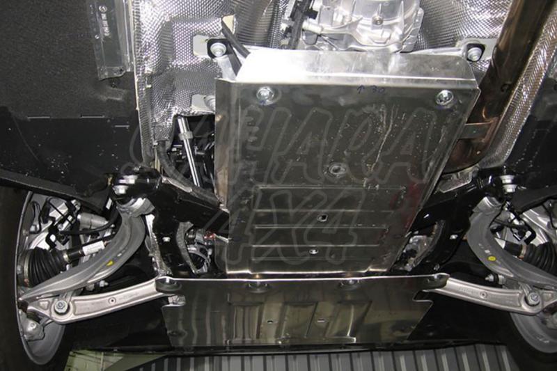 Protección de cárter y caja de cambios en aluminio 4mm (estampado) para Audi Q5 2017-