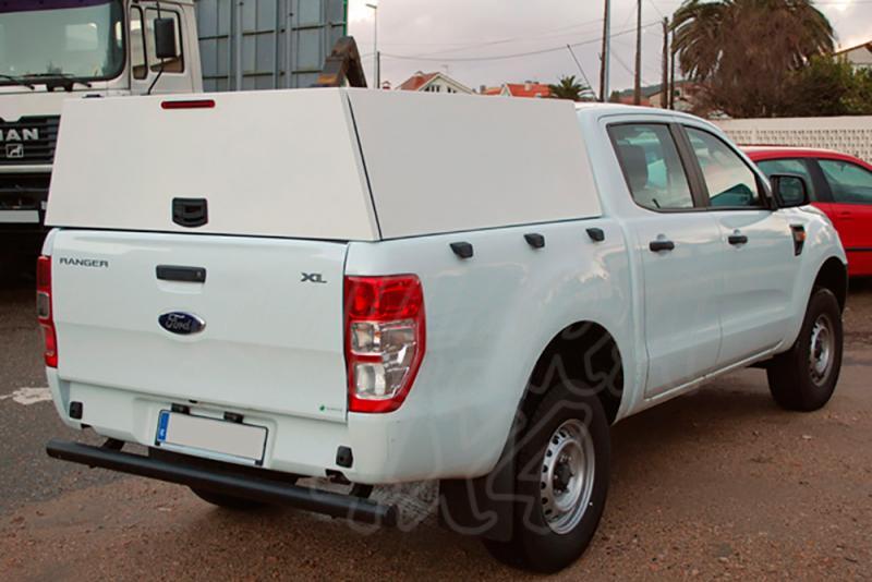 Hardtop metálico en acero sin ventanas (doble cabina) para Ford Ranger 2012-
