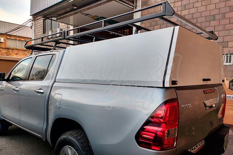 Hardtop metálico en acero sin ventanas para Toyota Hilux Revo 2016- - Para doble cabina