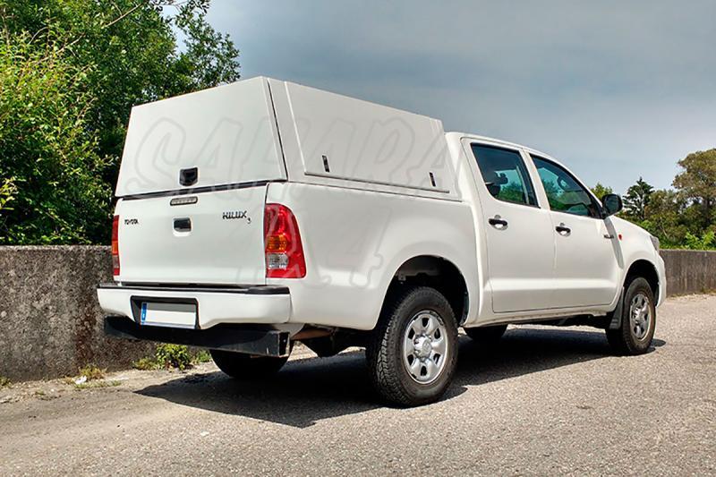 Hardtop metálico en acero, con portones laterales para Toyota Hilux Revo 2016- - Para doble cabina
