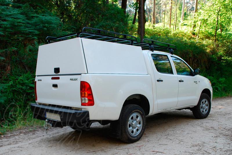 Hardtop metálico en acero sin ventanas para Volkswagen Amarok 2010- - Para Doble cabina