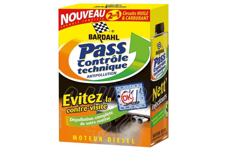 Kit PRE-ITV (control tecnico de gases)  Bardahl - Vehiculos diesel. (Pack)