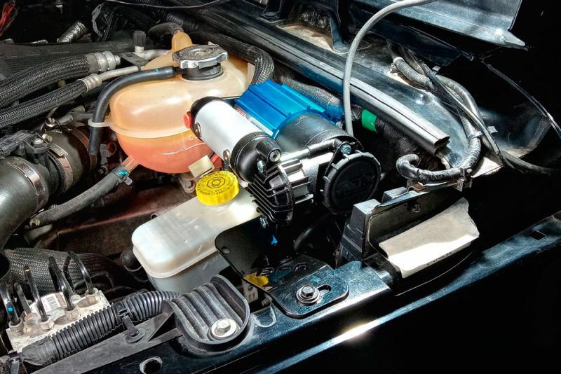 Soporte DFR 4X4 Para Compresor ARB Jeep Wrangler JK