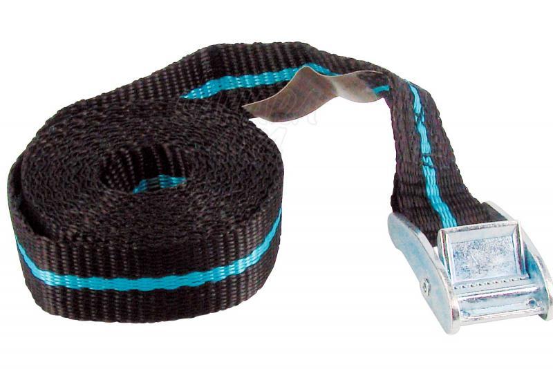1 cinta tensora con hebilla 5m - - Carga máxima: 123 kg