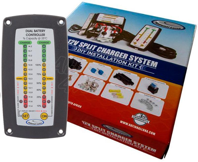 National luna, Sistema para Montar doble Bateria con monitor - Dual Battery System
