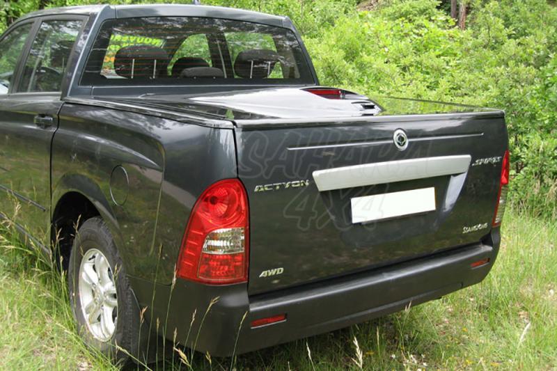 Cubierta plana en fibra para SSangyong Actyon Sports 2006-2011 - Para Doble cabina