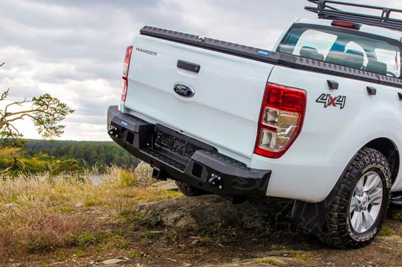 Paragolpes trasero Rival en aluminio para Ford Ranger 2012-