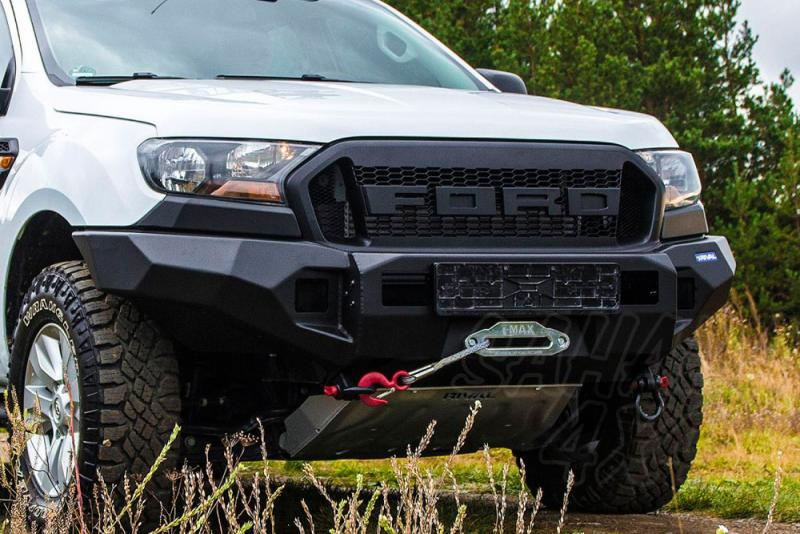 Paragolpes delantero Rival en aluminio para Ford Ranger 2011-2015