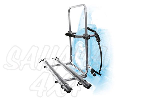 Porta bicicletas rueda trasera 2 Bicis  - Para 2 bicicletas, bicis