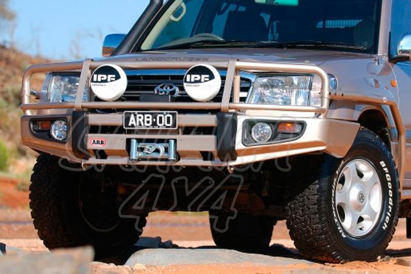 Winch Bar ARB Delantera TOYOTA  HDJ-100 (IFS) MOD HASTA 2003 - TOYOTA  HDJ-100 (IFS) MOD HASTA 2003