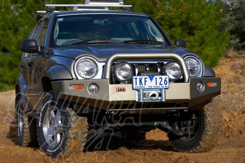 Winch Bar ARB Delantera Jeep Cherokee KJ  - Jeep Cherokee KJ desde 2001 hasta el 2005