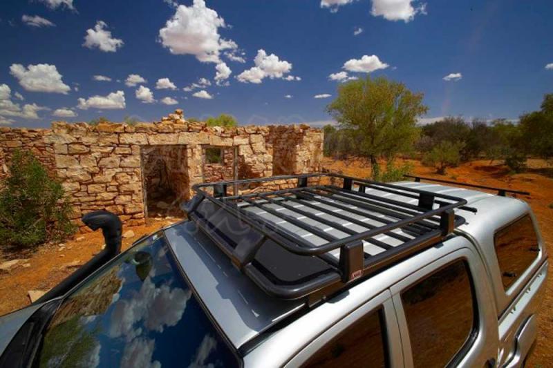 Baca Africana ARB ISUZU D-MAX 2012  1250 mm x 1150 mm - Baca Con soportes valida ISUZU D-MAX 2012