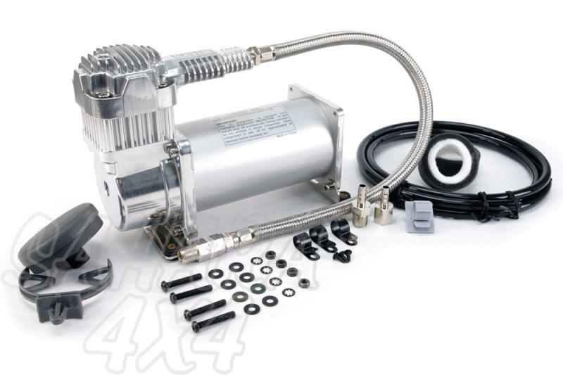 Kit Viair 400 C para instalacion - Listo para montar ,12 v,150 PSI / 65.12 Litros/Min