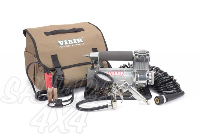 Compresor Viair 450 P Automatico - 450P-A compresor de aire portátil, 150 PSI / 50.97 Litros/Min