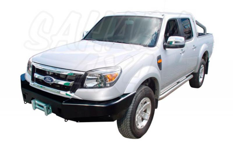 Paragolpes delantero con base de Winch en Acero - Para Ford Ranger Desde 09