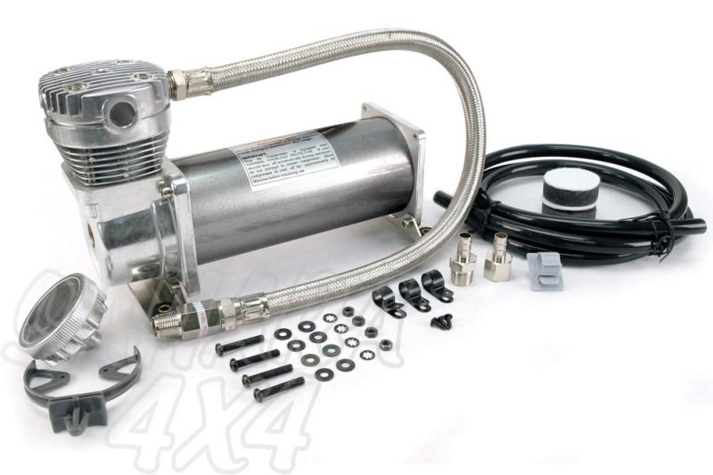 Kit Viair 480 C para instalacion - Listo para montar ,12 v,200 PSI / 52.66 Litros/Min