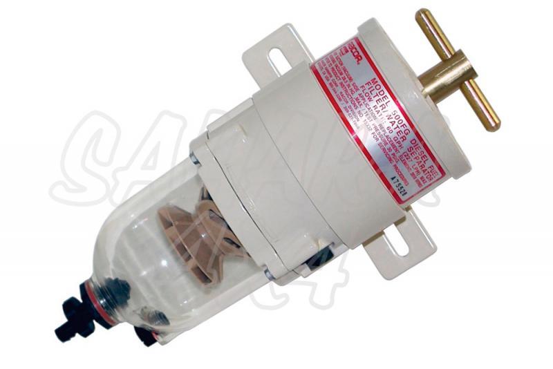 Prefiltro Combustible Racor 500 FG 30 con filtro 10 micron - Prefiltro Gasoil