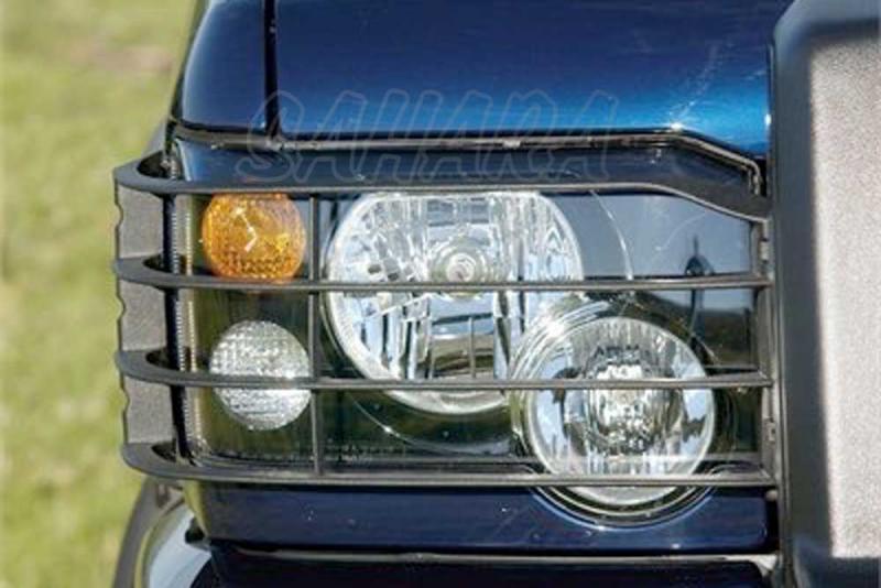 Protectores de faros delanteros en plastico Land Rover Discovery II