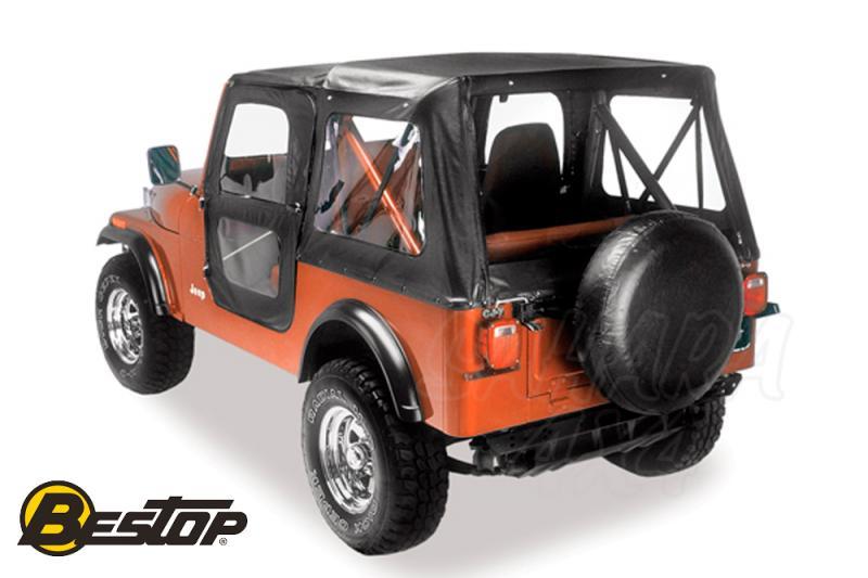 Capota de recmabio Bestop para Jeep CJ 76-86