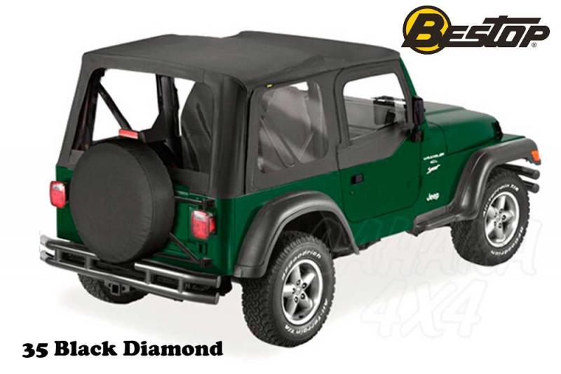 Capota Bestop recambio para Jeep Wrangler TJ 03-06