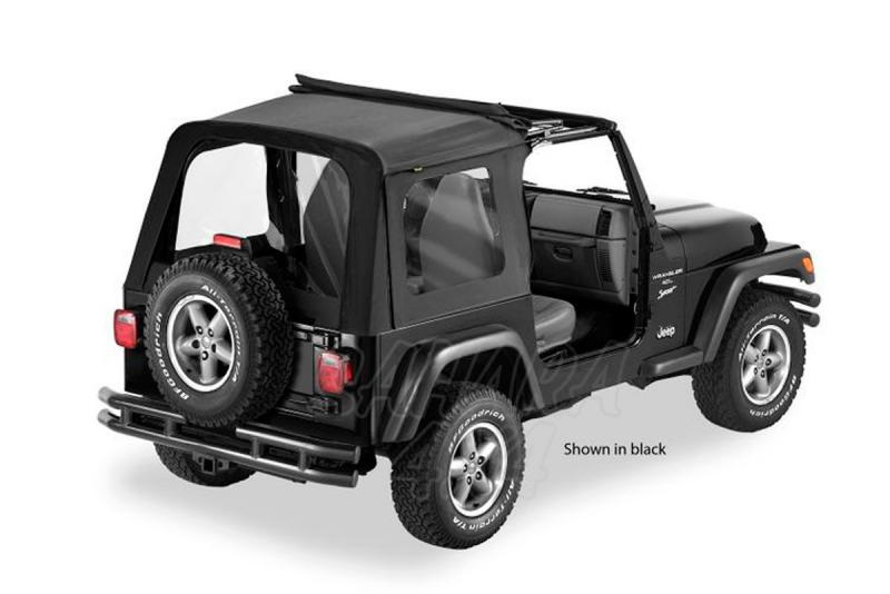Capota Bestop Sunrider Premium , Techo plegable sin puertas - Disponibles en diferentes colores,