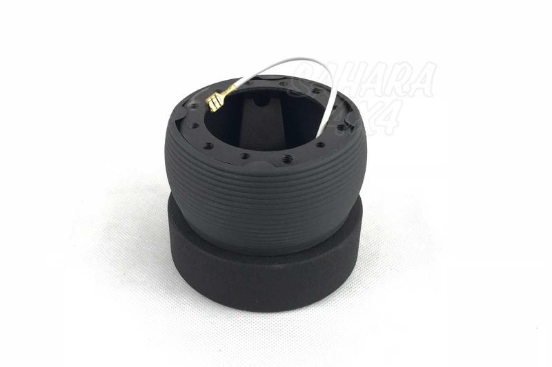 Piña de Adaptacion de Volante para Lada Niva - Medidas: 20 Estrías / 12.5mm Ø, pulse para más información.