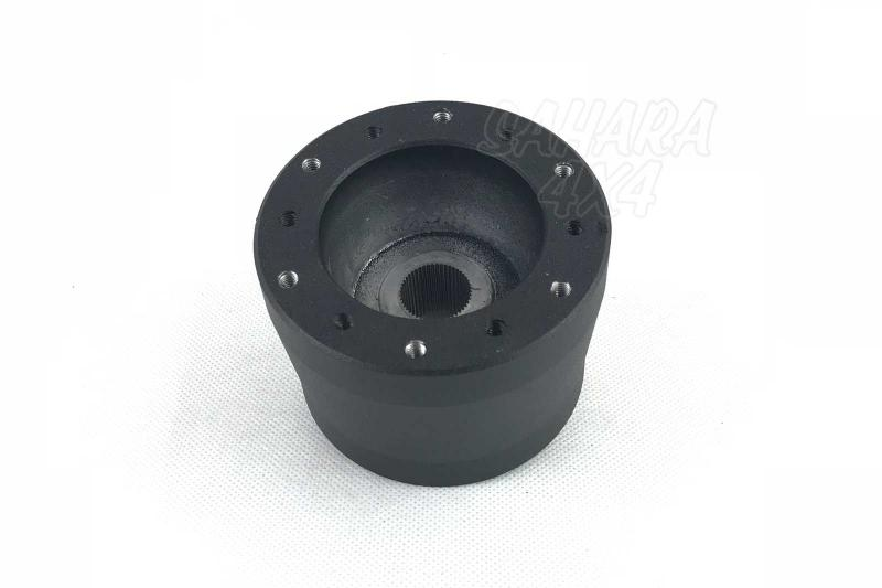 Piña de Adaptacion de Volante para Land Rover Defender - Medidas: 48 Estrías / 18.3mm Ø, pulse para más información.