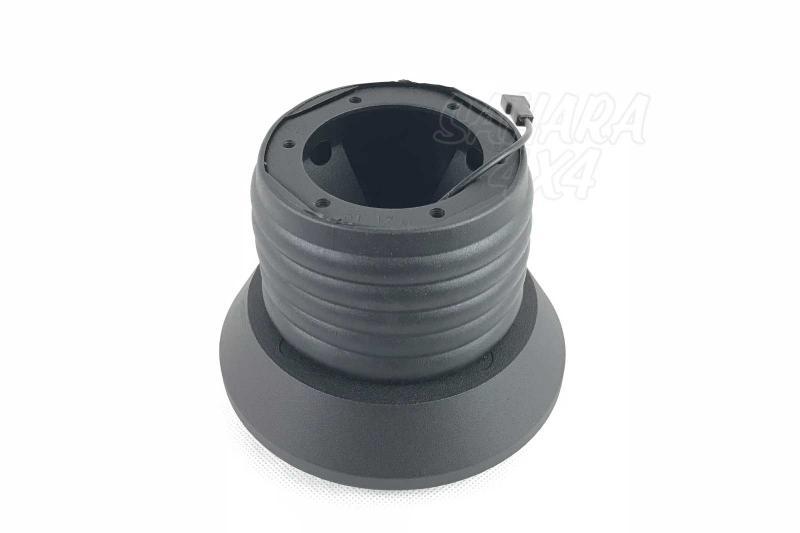 Piña de Adaptacion de Volante para Land Rover Defender - Medidas: 29 Estrías / 15mm Ø, pulse para más información.