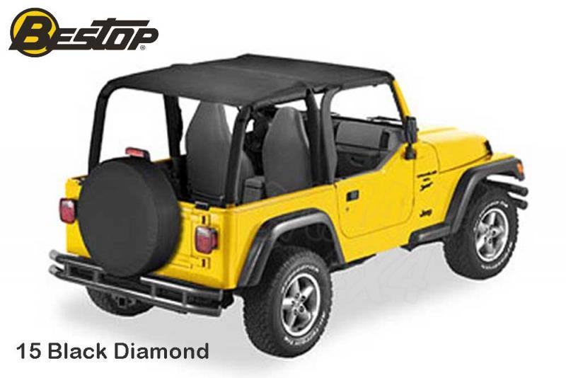 Bikini Safari Bestop para Jeep Wrangler TJ