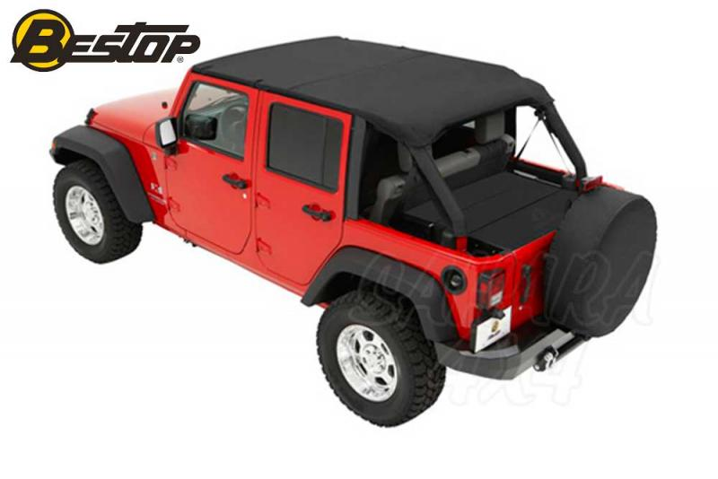 Bikini Header sin correas Bestop Jeep JK 4P