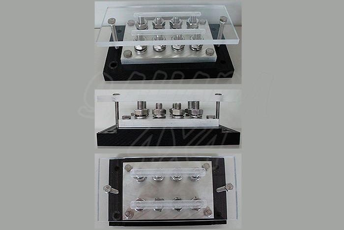 Conector heavy duty 1300A - Distribuidor de bateria, puede seleccionar + o -