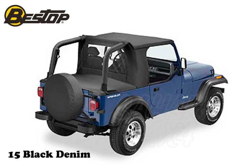 Capota Bestop HalfTop para Jeep Wrangler YJ 92-95